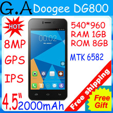 DOOGEE DG750 Octa Core Mobile Phone RAM 1GB ROM 8GB 4.7″MTK6592 Dual SIM Card 8.0MP Camera 3G Android4.4 Kitkat