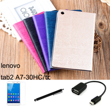 Buy Lenovo tab2 A7 A7-30 A7-30HC A7-30TC case 7'' Tablet PC dormancy protective Leather Case Protective Shell/Skin for $7.99 in AliExpress store