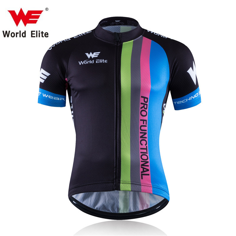 WORLD ELITE WE Italy miti fabric best quality pro team areo cycling jersey short sleeve cycling gear Ropa Ciclismo road bike(China (Mainland))