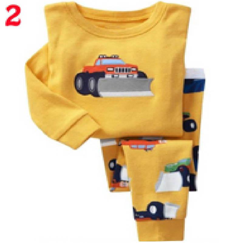 NEW cartoon kids pajama sets,children sleepwear boys nightwear girls family christmas pajamas Retail toddler baby pyjamas 2t-7t(China (Mainland))