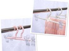 Элегантный ABS перл вешалка 30 см вешалка для одежды брюки клип брюки стойку брюки вешалка прищепка взрослых брюки вешалка сушилка
