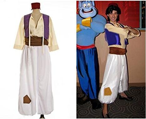 Free shipping Aladdin Lamp Prince Aladdin Costume Movie halloween party Cosplay Costume Adam prince cosplayОдежда и ак�е��уары<br><br><br>Aliexpress