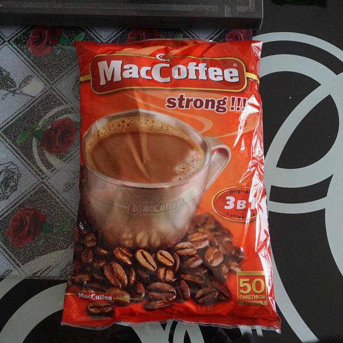 Russian imports MacCoffee makar triad coffee 1000 g free shipping