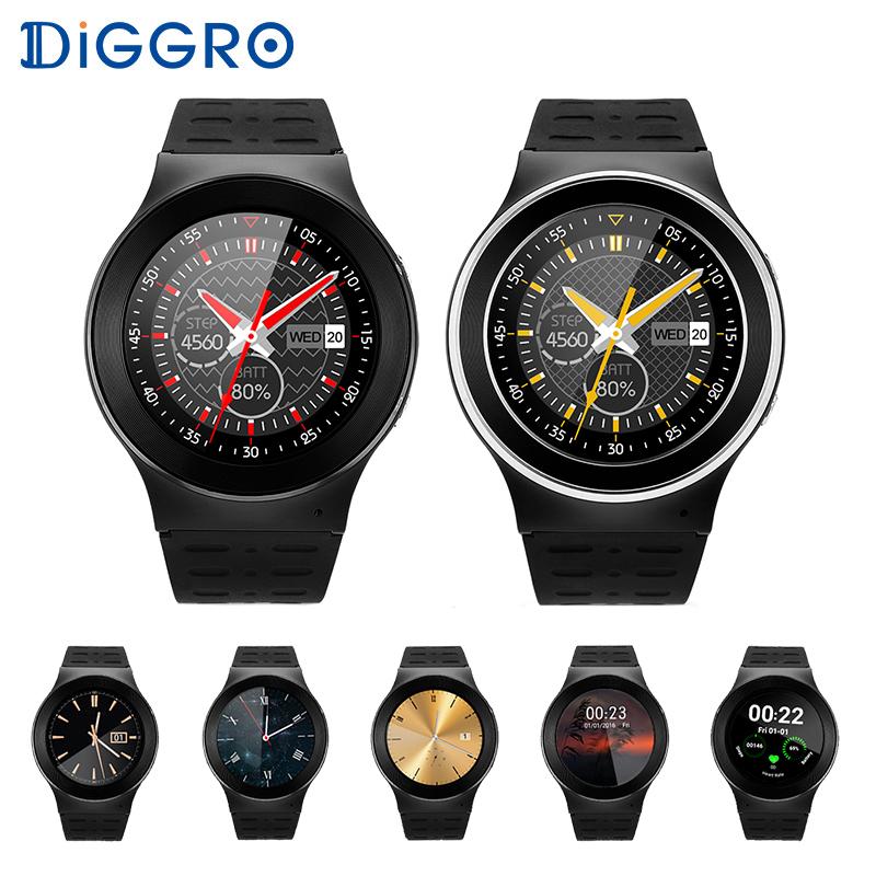 Orignal Sports Round Smart Watch S99 Diggro 3G Wifi GPS 2MP Camera With Speaker Microphone Smartwatch MTK6580 Electronic Watch(China (Mainland))