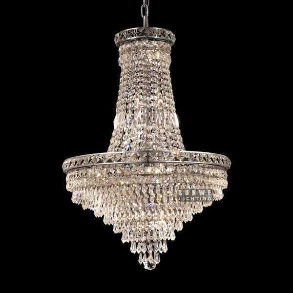 Chandeliers And Pendants Hanging Chrome Crystal Chandelier Lighting Mini Bedroom Crystal