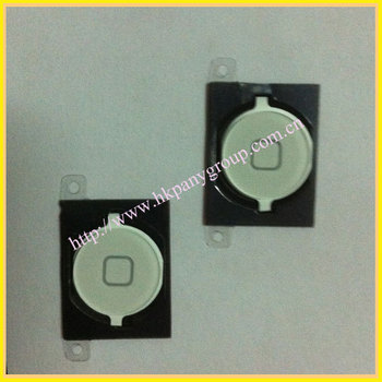 Well quality  for iphone 4S home button Black & white colors free ship cost