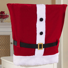 Buy Christmas Decorations Merry Christmas Snowman Chair Covers Xmas Dinner Table Party Chair Back Cover for $3.49 in AliExpress store
