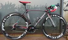 Carbon road bike de rosa 888 complete carbon fiber BIKE,frameset +carbon wheelset + carbon handlebar +groupset(China (Mainland))