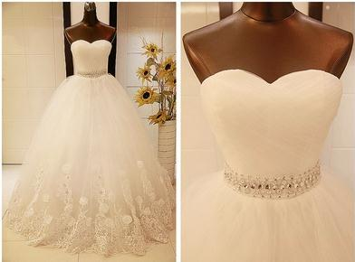 Free Shipping 2015 New Arrival Bridal Wedding Dress,Wedding Gown W0308