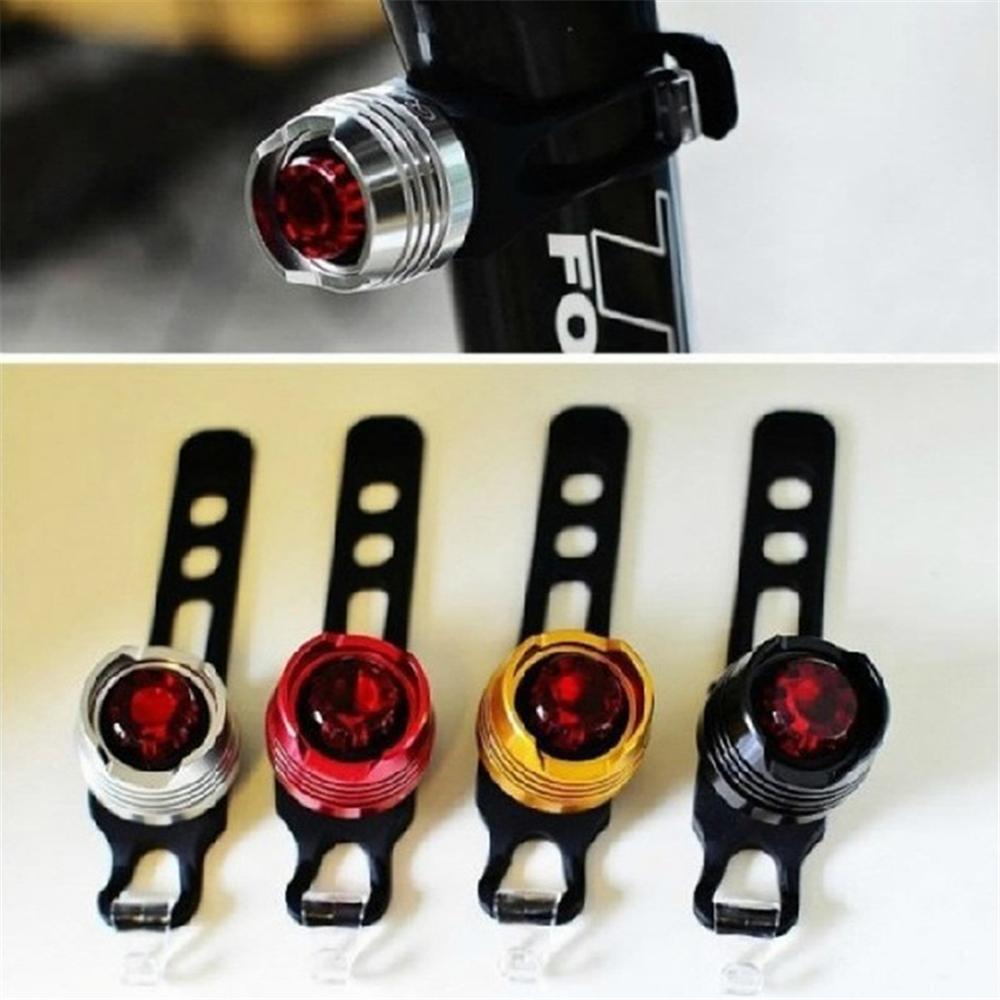 LED Waterproof Bike Bicycle Cycling Flash Light Mountain Front Rear Safety Warning Lamp Safety Caution Light Accessories(China (Mainland))