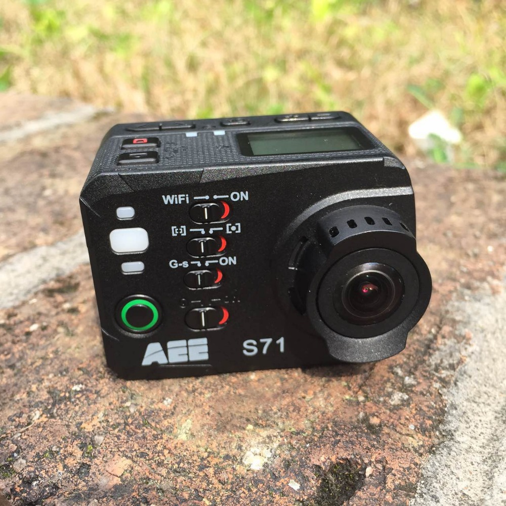 AEE S71 GOPRO 16MP 4K Wi Fi Action Camera Bundle Support 64G