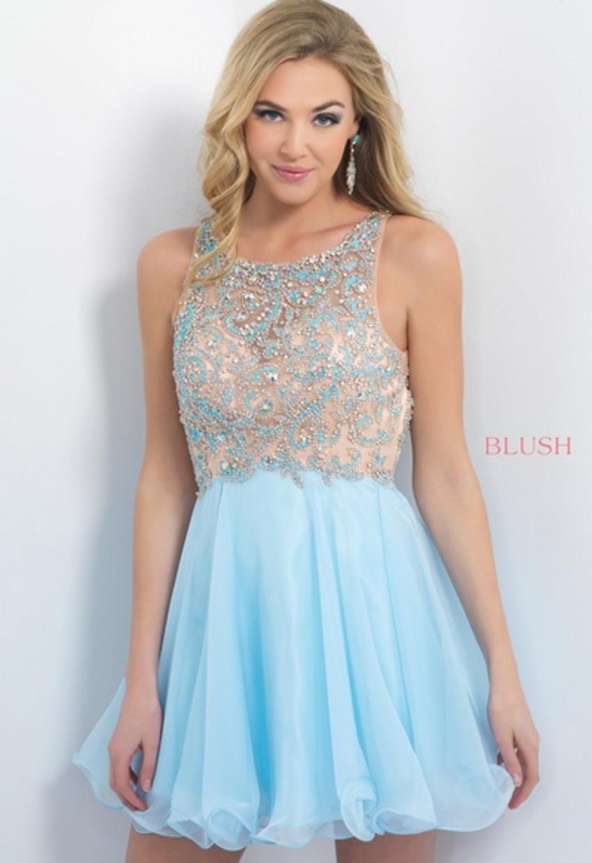 Online Get Cheap Blue Homecoming Dresses Modest -Aliexpress.com ...