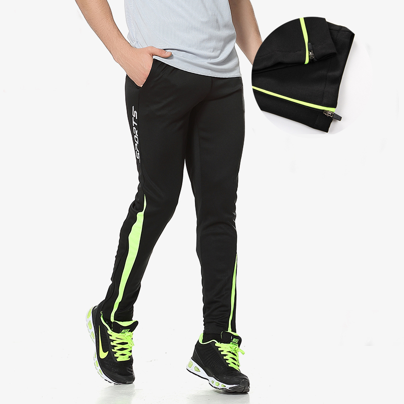 Men's Sport Long Sexy Tight Pants Gym Ankle Length Pant Skinny Pants Male Athletic Trousers Workout Casual Elastic Sweatpants(China (Mainland))