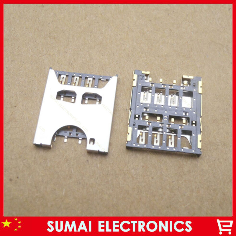30pcs/lot SIM card Holder Slot Socket for Acer S1 S510 Free shipping