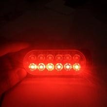 12 В -В 24 В светодио дный 4 светодиодный стробоскоп Предупреждение свет стробоскоп Решетка мигающий фары для грузовика автомобиль маяк лампа ...(China)