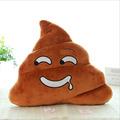 5 Style Soft Emoji Pillow Plush Toys Cushion Poop Shape Pillow Doll Toy Emoji Pillow Amusing