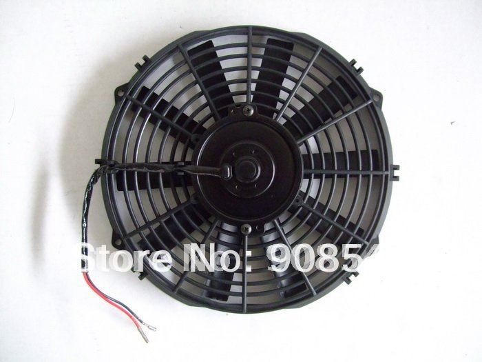 12 inch 12v Auto Radiator Universal Electric Cooling Fan and Kits(China (Mainland))