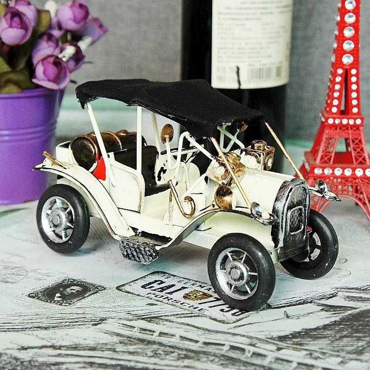 Metal crafts classic vintage cars nostalgic metal car model cars Home Decoration(China (Mainland))