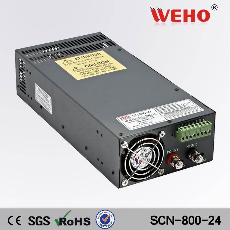 (SCN-800-24) Big power 800W 24V AC / DC Power Supply 24v output 800 watt PSU(China (Mainland))