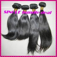 1 bundle deal 100% unprocessed flawless WestKiss's virgin hair bouncy straight 3.3-3.5oz more amounts,Top Seller