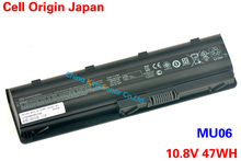 Japanese Cell Original New Laptop Battery for HP Pavilion G4 G6 G7 CQ42 CQ32 G42 CQ43 G32 DV6 DM4 G72 593562-001 MU06 10.8V 47WH