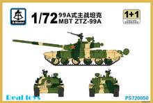 S-modelo 1/72 PS720050 MBT ZTZ-99A kit modelo de plástico