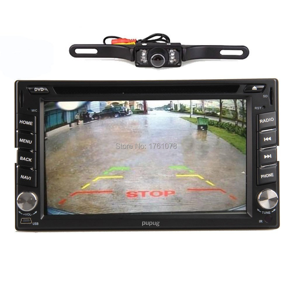 Rear Camera Pure Android 4.2 6.2'' GPS Navi Car DVD CD Video Player two 2 Din Car Stereo Radio audio Bluetooth/SD/USB/ipod//Wifi(China (Mainland))