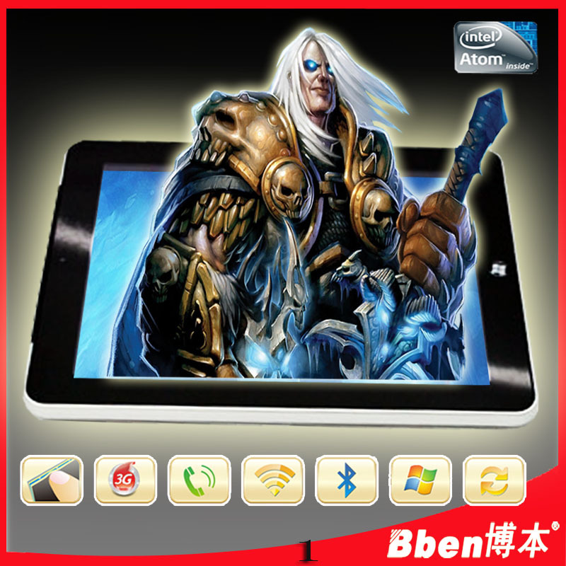 Hot C97 Tablet PC Windows 7 OS 9.7 inch Capacitive Screen tablet-PC 3g ultrabook windows tablet(China (Mainland))
