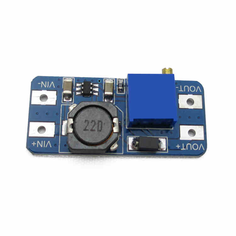2577 2A DC-DC in 2-24V liter to out 5V 9V 12V 28V adjustable booster voltage step-up power module for Arduino(China (Mainland))