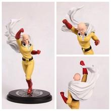 ONE PUNCH MAN Action Figures Saitama Sensei Face Changing PVC 230mm Anime ONE PUNCH-MAN Cartoon Model Toys GS059