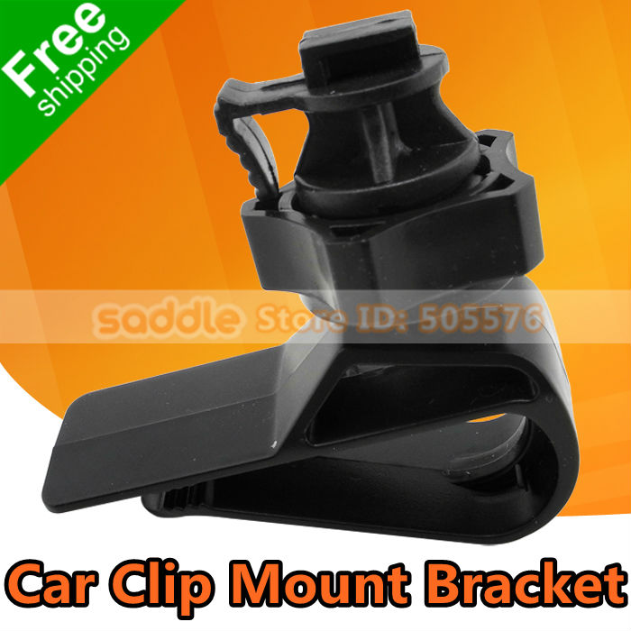 Car Sun-Shading Board Clip Bracket Mount Holder Fix the Car DVR H302A H190 ... Free Shipping + Wholesale !(China (Mainland))