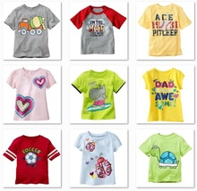 2014 Children t shirt First Movements Boys T-shirts Girl's tees tshirts boys clothes - Super Retail Market For Baby&Kids store