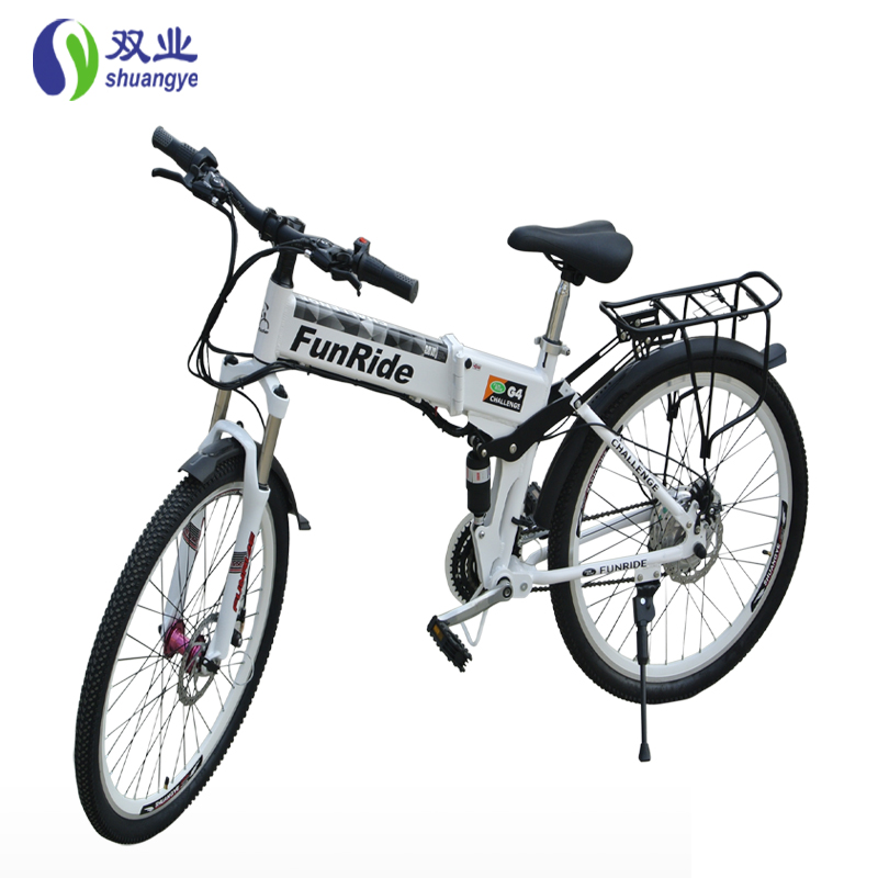 26 inch speed 21 electric mountain bicycle 36v 10a 350w lithium battery size 180*25*90(China (Mainland))