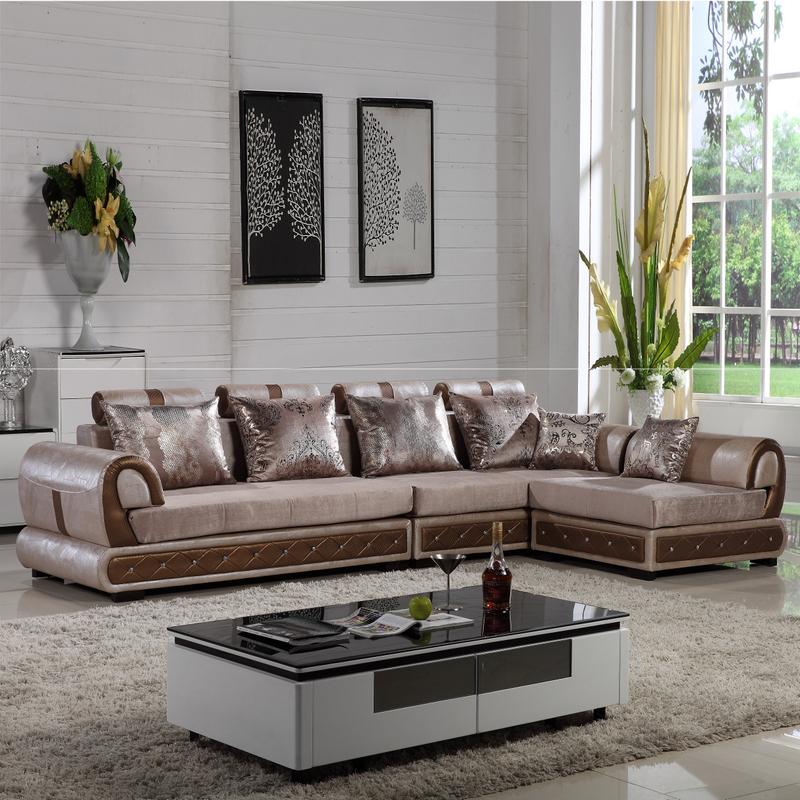 Aisenbaopi Busha Publish With Leather Sofas Living Room