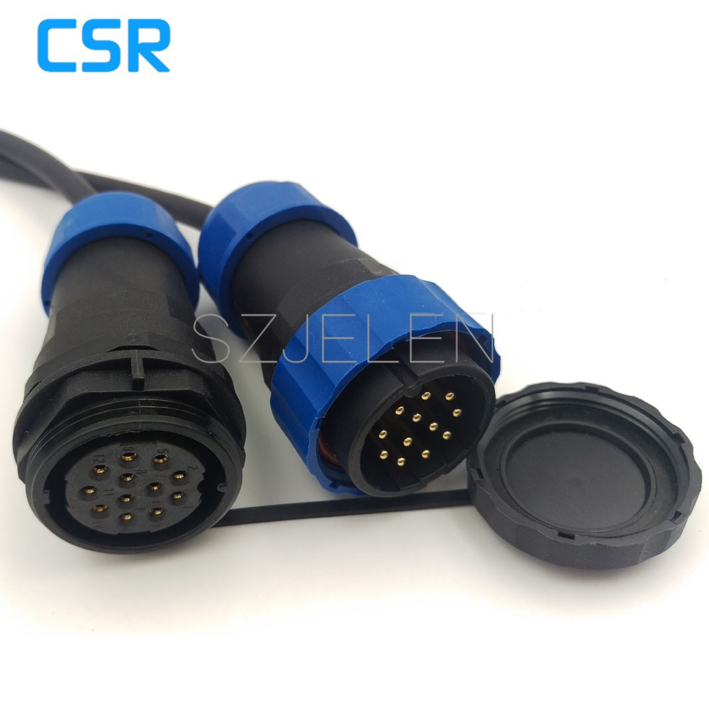 Sd28tp Zm 12 Pin Waterproof Connector Ip67 Industrial Machinery Trs 9007 Wiring Harness Issues Wrx Automation Power Cable 12pin Plug And Socket Us223