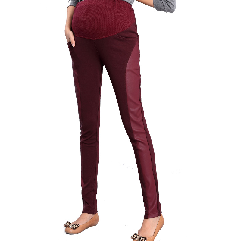 Sale new Maternity legging autumn maternity belly pants trousers patchwork skinny pants FREE SHIPPPING<br><br>Aliexpress