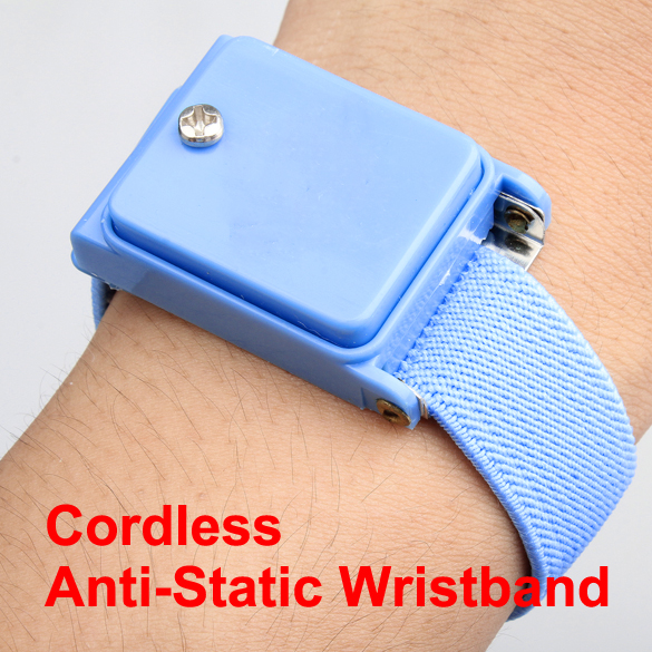 Cordless Wireless Anti Static ESD Discharge Cable Band Wrist Strap Slim New(China (Mainland))