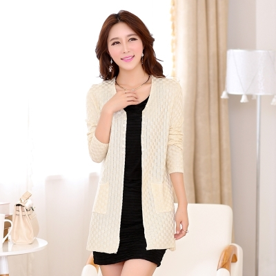 Free shipping New Fashion 2015 Autumn Winter Women Oversized Cardigans Long Sweaters Knitted Christmas Sweater Dress