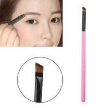 1PC Super Soft Professional Oblique Makeup Eyebrow Brush Eyeshadow Blending Angled Brush Comestic Make up Tool(China (Mainland))