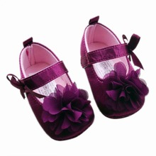 Baby Girl Shoes Todder First Walkers Shoes Infant Girls Prewalker Flower Soft Sole Shoe(China (Mainland))