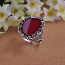 Старинные кольца для женщин бренд турецкий дизайн анель feminino красный ювелирные изделия ретро любовь бижутерии выдалбливают антикварные серебряные позолоченные кольца(China (Mainland))