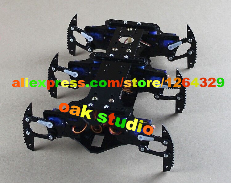 Spider-Man!Six foot/6 foot robot spider/A full set of servos bracket accessories remote control robot+12pcs servo for the robot(China (Mainland))