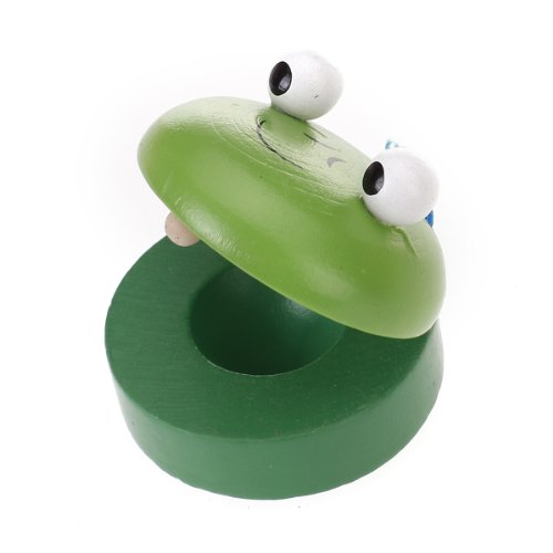 New Gift Baby Animal-Patterned Round Wooden Castanet Musical Instrument Toy(China (Mainland))