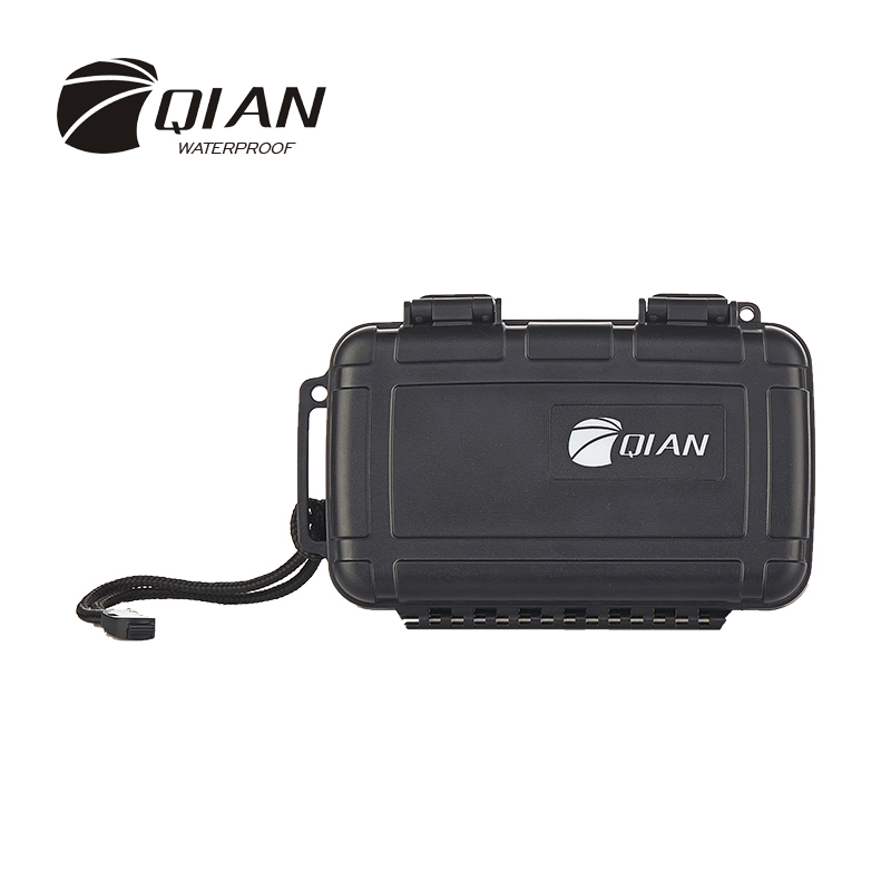 QIAN SAFETY Professional Impact ABS Plastic Sealed Waterproof Safety Equipment Box IP67 Portable Tool Swimming Diving Case(China (Mainland))