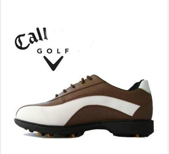 2015 men Golf Mens Shoes waterproof brand GOLf sneakers shoes good quality wearable activity spikes(China (Mainland))