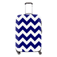 Clear luggage cover luggage protector Chevron suitcase covers suitcase rain cover for girls waterproof cover for 18-30 inch(China (Mainland))