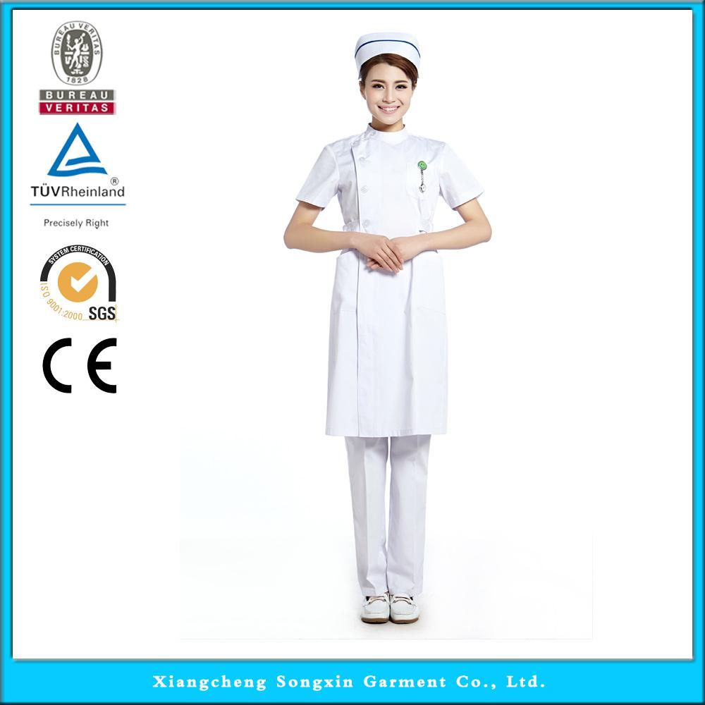 2015 OEM nurse uniform hospital medical scrub nursing scrub short sleeve hot selling(China (Mainland))