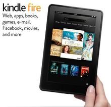 Фондовый Kindle Fire, IPS сенсорный экран, wi-fi 8 ГБ Tablet электронная книга, для чтения электронных книг, читалка, книги электронная книга