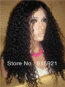 Гаджет  Factory Wholesale Price  #1B kinky curl 100% Top Quality Brazilian Virgin Lace Front Wig With Baby Hair None Изготовление под заказ