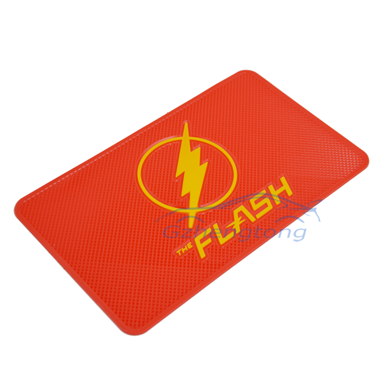 New Car accessories mat cell phone the flash non slip pad cartoon dashboard car slip sticker silicone anti slip mat(China (Mainland))